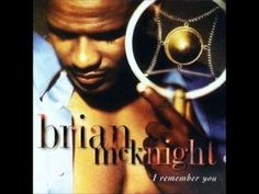 """I Remember You is the second album by Brian McKnight released in It includes the singles """"Crazy Love"""", """"On the Down Low"""" and """"Still in Love"""". """"Crazy Love"""" was featured in the film Jason's Lyric. R&b Soul Music, My Music, Brian Mcknight, New R, Still In Love, Crazy Love, American Music Awards, Album Songs, My Escape"""