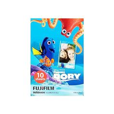 Fujifilm Instax Mini Instant Film 10 sheets Finding Dory *** To view further for this item, visit the image link. Instax Mini 8 Film, Instax Mini Album, Instax Mini Camera, Fujifilm Instax Mini 8, Fuji Instax, Polaroid Photo Album, Polaroid Camera, Polaroids, Instax Mini Ideas