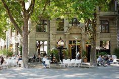 Zürichs kulinarische Sommer-Oasen Neapolitanische Pizza, Café Bar, Grob, Channel, Street View, Travel, Wine List, Travel Destinations, Summer