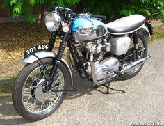 1961 Triumph T120 Bonneville