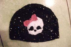crochet monster high beanie