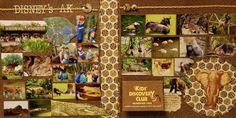 Gorgeous Animal Kingdom layout!