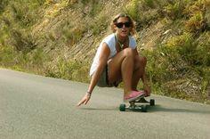 Longboard girls crew. Skateboarding girls. Street skating. Your Body is a Wonderland http://www.pinterest.com/wineinajug/your-body-is-a-wonderland/