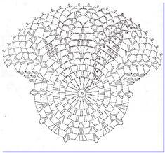 xteen handmade: 40 chart móc mũ hè và đông kiểu ren cho sợi dù