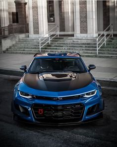 Perfection is a 💙🤩 Owne Camaro Models, Chevy Models, 2019 Camaro, Camaro Zl1, Chevrolet Camaro, Corvette, Disney Cars Movie, Custom Muscle Cars, Performance Cars