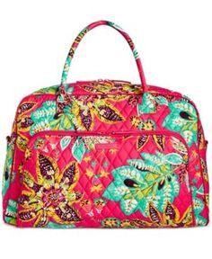 b7536d8247 Vera Bradley Signature Weekender Travel Bag 2.0   Reviews - Handbags    Accessories - Macy s