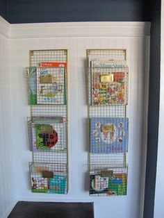 Dream Book Design: Nursery Book Shelves