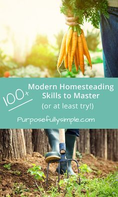 Modern Homesteading Skills to Master (or at least try!) Modern Homesteading Skills to Master (or at least Modern Homesteading Skills to Master (or at least try! Homestead Farm, Homestead Gardens, Homestead Survival, Survival Skills, Survival Stuff, Organic Gardening, Gardening Tips, Organic Farming, Gardening Vegetables