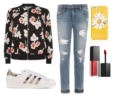 """""""Normal Day"""" by clarisaguerra-243 on Polyvore featuring moda, New Look, Joe's Jeans, adidas Originals, Kate Spade y Smashbox"""