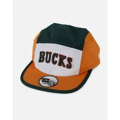 834e6a745e13 New Era Milwaukee Bucks 5 Panel Adjustable Hat - 1 Milwaukee Bucks