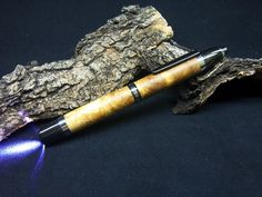 Olive wood flashlight  20 euro + shipping