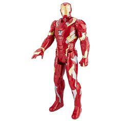 "Q Fig FX Marvel Iron Man Luz-Up Guerra Civil pantalla de 6/"" figura Coleccionable Nuevo Y En Caja"