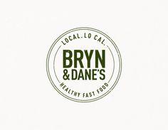 Bryn and Danes | Branding | Design | Healthy Fast Food | Logo