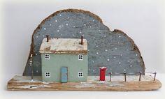 snowy scene  sixty one A