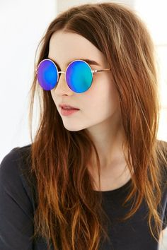 Pin for Later: This Sunglasses Trend Isn't Going Anywhere  Famous Metal Round Sunglasses ($18)