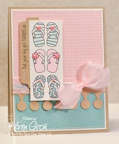 Get Your Thong On stamp set from There She Goes Clear Stamps.