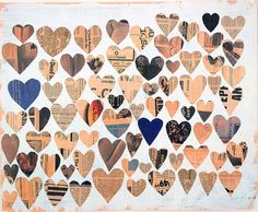 Jim Hodges, Untitled, 2000. Acrylic on newspaper, 56 x 68.6 cm. Courtesy the artist - what to do with your wedding cards