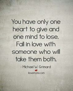One heart and one mind