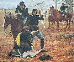Affordable fine art prints, original oils, illustrations, military history brought to life by renown Civil War and Military artist Don Stivers. American Indian Wars, American Civil War, American History, Military Art, Military History, Military Uniforms, Civil War Art, Le Far West, Us History