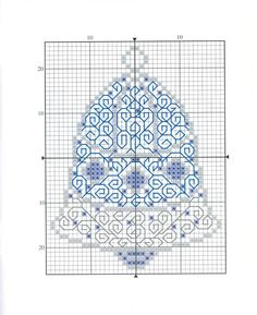 Cross stitch / blackwork mixed. Christmas ornaments...