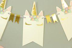 Bandera de unicornio unicornio partido