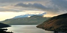 View of Ben Lawers and Loch Tay