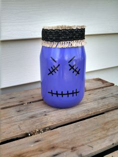 Franken-Jar! by ToastyBarkerBoutique on Etsy