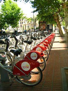 Bikes em Sevilha - Espanha