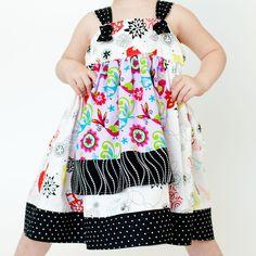 Apron+Knot+Dress pattern to size 12!