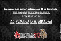 #aIENAto #insulto #LoVoglioFareAncora