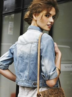 Jean Jackets!!!  perfect for any outfit!