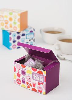 Children's Tea packaging  Mais um post especial da série de embalagens de chá diferentes e criativas!