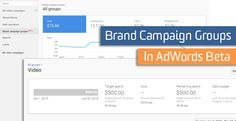Brand Campaign Groups In AdWords Beta Innovation Models, Brand Campaign, Budgeting, Group, Learning, Digital, Blog, Studying, Budget Organization