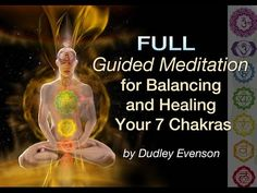 """Guided Meditations for Balancing and Healing Your 7 Chakras From the album """"Chakra Meditations & Tones"""" by Dudley and Dean Evenson. Buddhist Meditation Techniques, Chakra Balancing Meditation, Meditation For Health, Meditation Scripts, Best Meditation, Meditation Benefits, Meditation For Beginners, Healing Meditation, Meditation Practices"""