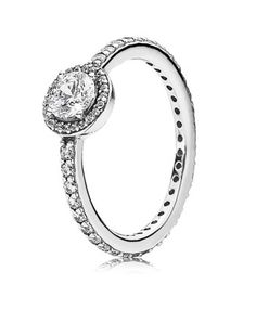 Pandora Classic Elegance With Clear Cz Rings.JpegCheap Sale