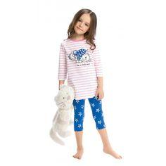 Пижама для девочек Пеликан GNML368