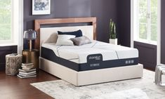 """Serta iComfort® CF4000 Hybrid Firm 14"""" Mattresses 
