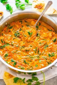 Thai Chicken Coconut Curry – An EASY one-skillet curry that's ready in 20 mi. - Thai Chicken Coconut Curry – An EASY one-skillet curry that's ready in 20 minutes and is layere - Chickpea Coconut Curry, Thai Coconut Curry Chicken, Red Curry Chicken, Thai Curry Recipes, Thai Chicken Recipes, Curry Food, Thai Chicken Curry Soup, Spicy Thai Soup, Healthy Chicken Curry