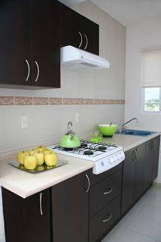 cocina integral pequeña - Buscar con Google