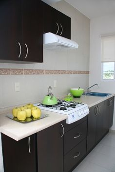 Cocina genova 240 cm con 8 puertas 3098693 coppel for Decoracion de cocinas pequenas y economicas