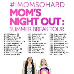 Grab Your Friends for a Night Out with #IMomSoHard LIVE | Macaroni Kid