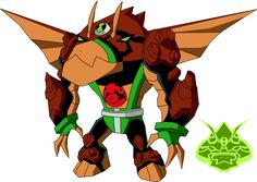 Biomnitrix Unleashed - Gravadactyl by on DeviantArt Ben 10 Omniverse, Aliens, Ben 1000, Hero Time, Alien Design, Samurai Jack, Alien Art, Character Sketches, Pokemon Fusion