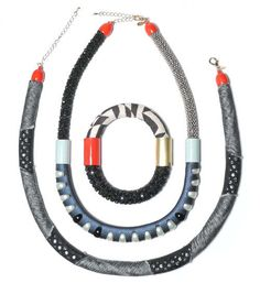The NDS + Knoll Textiles Collection is Edgy and Eye-Catching #necklace #jewelry trendhunter.com