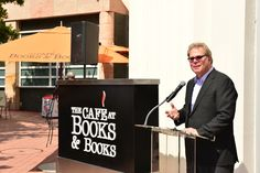 John Richard, President & CEO of the Arsht Center at the Ribbon Cutting for The Café at Books & Books, Arsht Center #CafeBBArsht