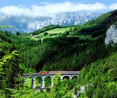 Semmering Railway, Austria - World's Most Scenic Train Rides | Travel + Leisure