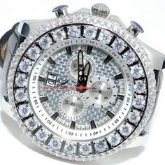 A luxury diamond watch from Rodeo Aqual Jino. It has 51mm XL leather band. It is studded with beautiful diamonds which add luxury and style in this. At midwestjewellery.com you can get this only at $275.00.