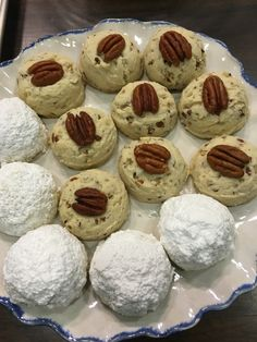 Pecan Shortbread Cookies made for WFSB CT!