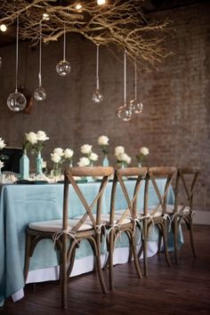 high tide inspired wedding table - photo by Lauren Carroll Photography