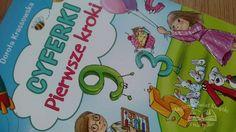 """""""Cyferki. Pierwsze kroki"""", Dorota Krassowska, wyd. Skrzat, recenzja: http://magicznyswiatksiazki.pl/recenzja-cyferki-pierwsze-kroki-dorota-krassowska/"""
