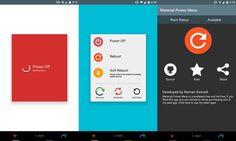 Material Power Menu para Android